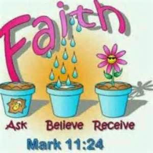 Ask believe receive