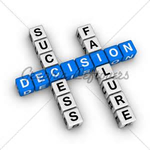 failure success decision